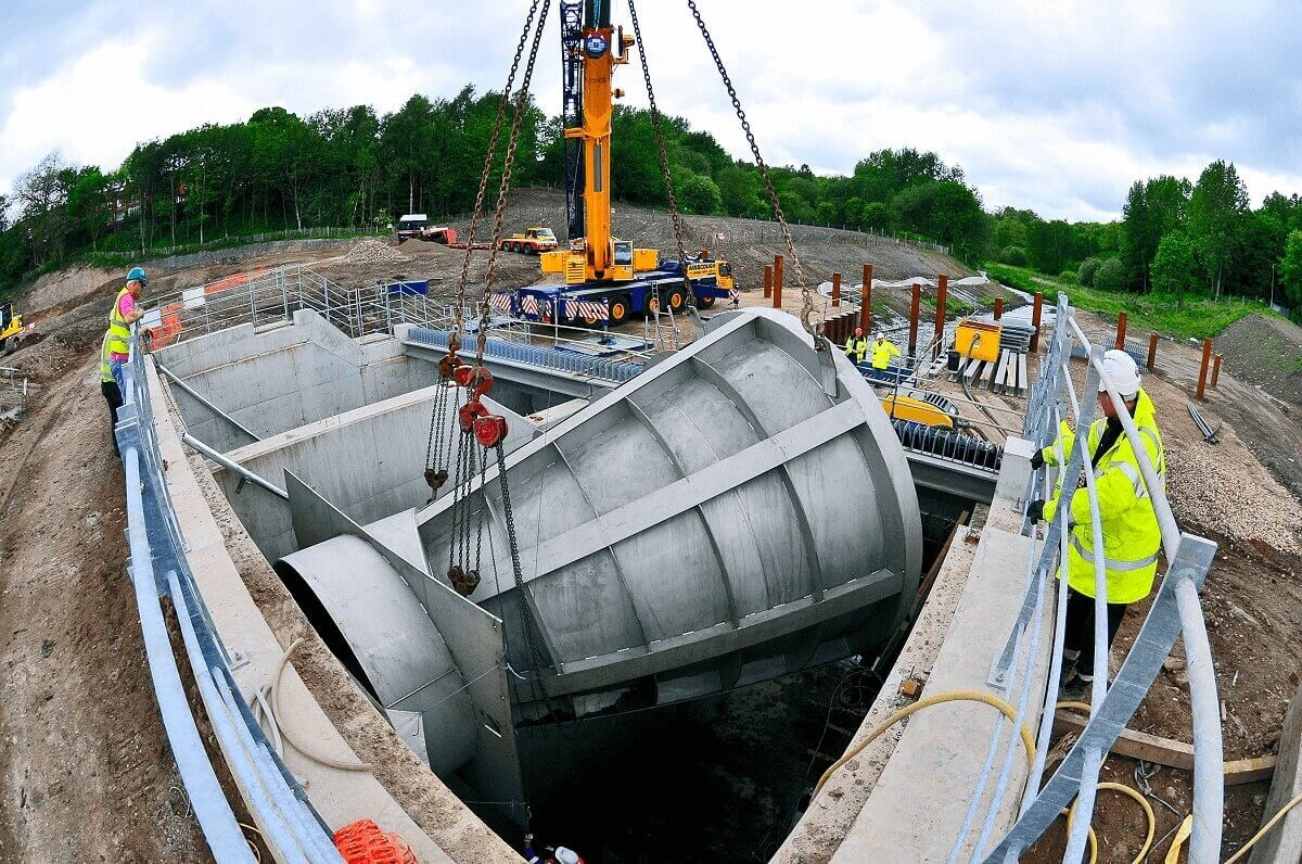 Hydro-Brake® Flood provides large-scale flood protection, prevention and risk mitigation