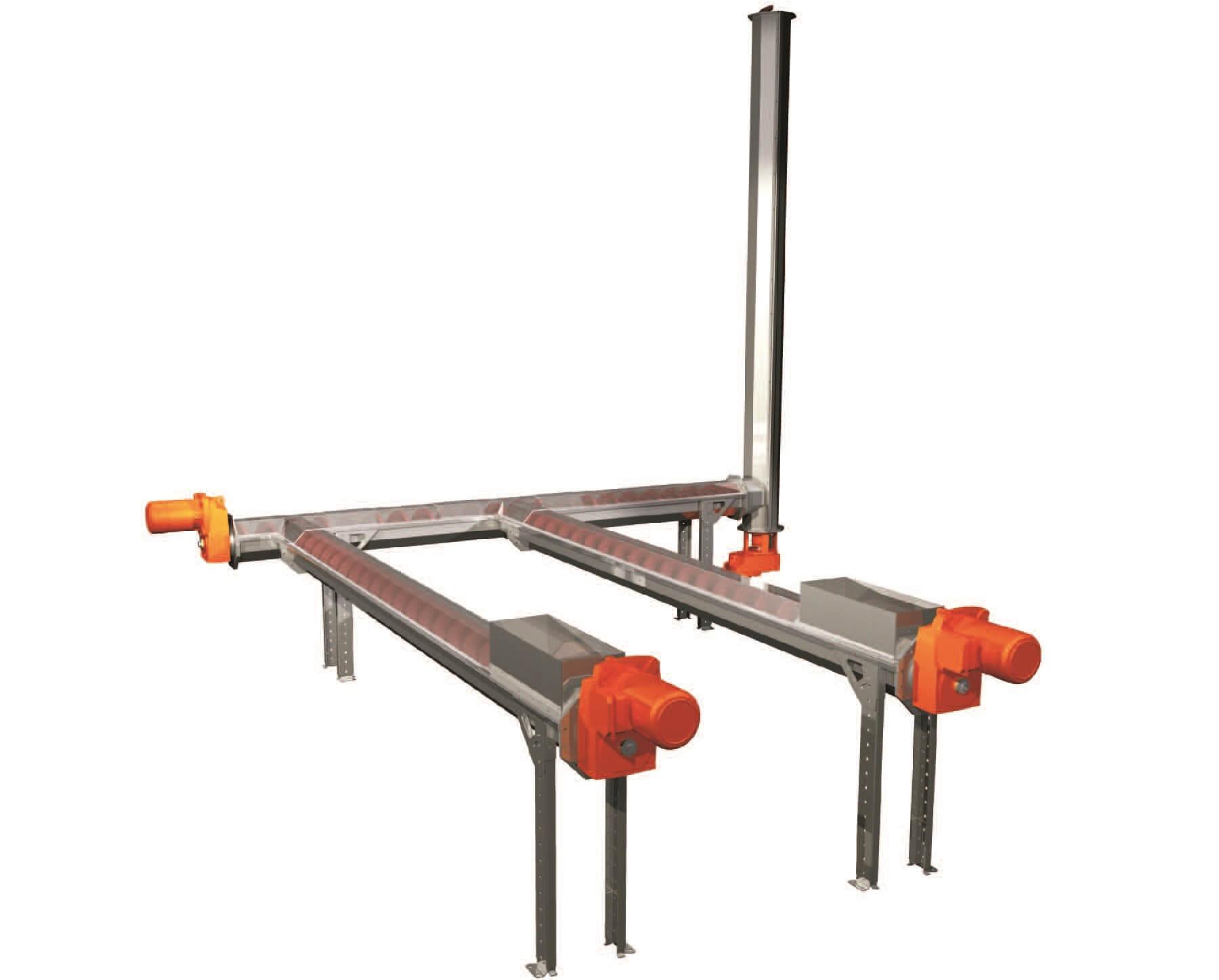 Meva Shaftless Screw Conveyor