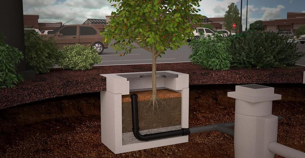 Hydro Biofilter™ provides exceptional treatment of urban stormwater runoff