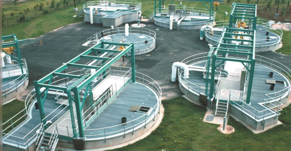 The Storm King® separator installed at a CSO site in Columbus, Ohio