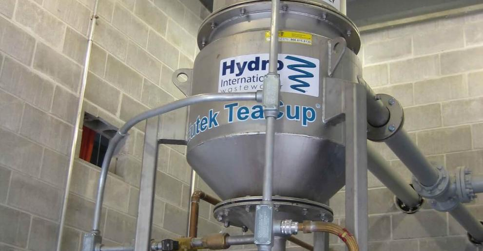 TeaCup® is a compact, low-power system that helps WWTPs save space and money