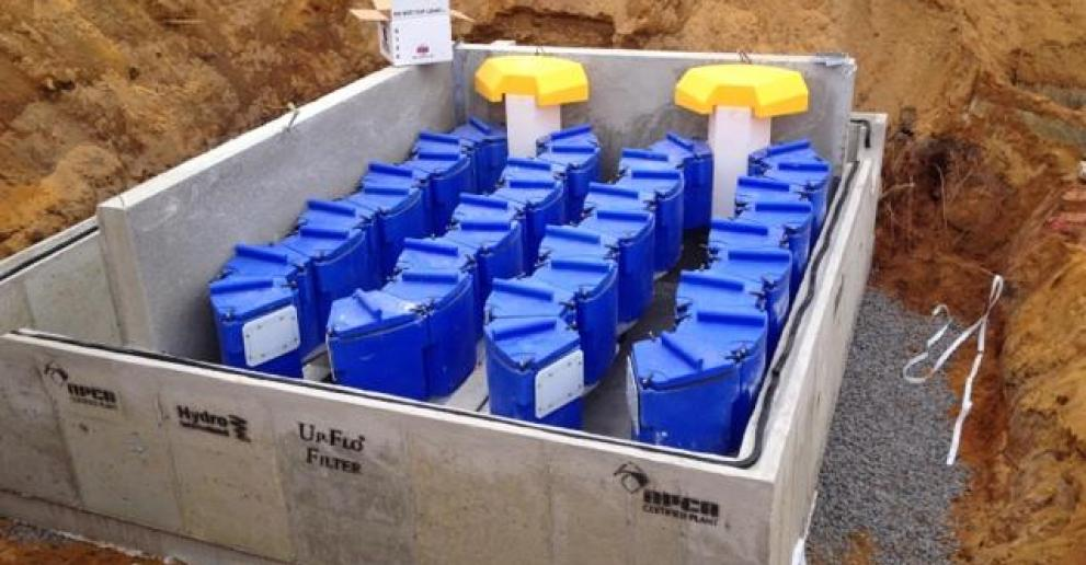 Up-Flo Filter - Industrial Stormwater Treatment Solution